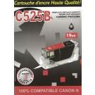 Cartouche compatible Canon PGI-525 / Noir