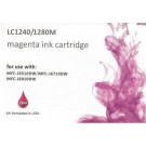 Cartouche compatible Brother LC-1240/1280 / Magenta