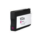 Cartouche rechargée HP 933XL / Magenta / Rechargé / AVEC niveau d'encre affiché.