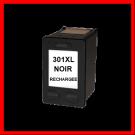 Cartouche rechargée HP 301XL /  Noir / Rechargé
