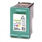 Cartouche rechargée HP 351XL /  3 Couleurs / Rechargé SCV