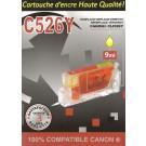 Cartouche compatible Canon CLI-526 / Jaune