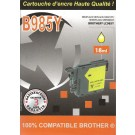 Cartouche compatible Brother LC-985J / Jaune