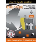 Cartouche compatible Brother LC-1100/ Noir 28 ml