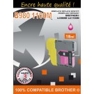 Cartouche compatible Brother LC-980 / Magenta 18 ml