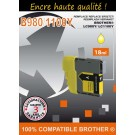 Cartouche compatible Brother LC-1100 / Jaune 18 ml