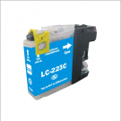 Cartouche compatible Brother LC-223 / Cyan. 10ml