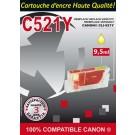 Cartouche compatible Canon CLI-521 / Jaune