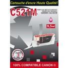 Cartouche compatible Canon CLI-521 / Magenta