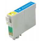 Cartouche rechargée Epson T0712 / Cyan / Rechargé