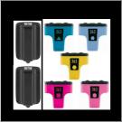 Pack 7 cartouches Rechargées HP 363
