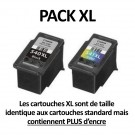 Pack 2 cartouches Originales Canon PG-540XL / CL-541XL