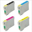 Pack 4 Cartouches Rechargées Epson T1295 / CMJN